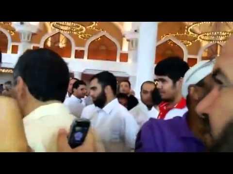 شاهد د. محمد الجوادي وحب الناس له في مسجد محمد بن عبد الوهاب
