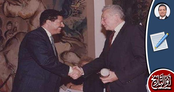 لماذا لا يتعاون أحمد زويل مع مصر بنفس الطريقة التي تعاون بها مع إسرائيل؟