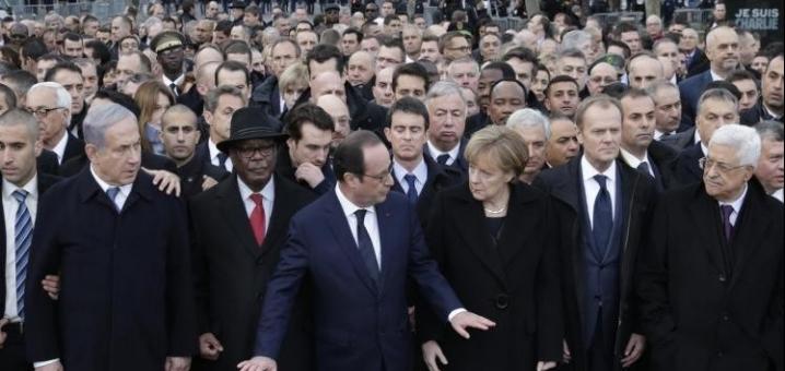 انتهت مسيرة باريس من حيث بدأت... 12/1/2015