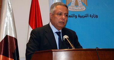وزير التربية الجاهل يعترف بالكفر صراحة....