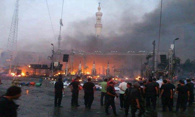 دمروا المساجد فازدادوا خوفا...