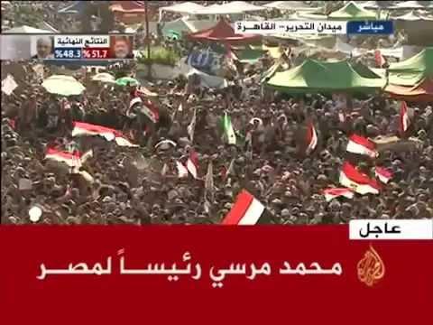 للتاريخ.. د.محمد مرسي أول رئيس مدني منتخب في تاريخ مصر
