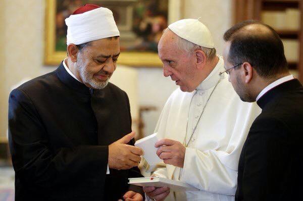 قال البابا للشيخ احمد هل بوسعك أن تشهر إسلامي