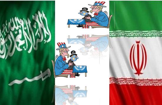 ليعلم العرب والفرس أن سوء الحظ المدبر لكل منهما سواء