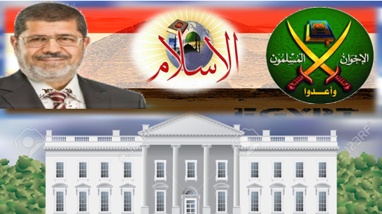 أهم موضوع يشغلهم في البيت الأبيض : الاسلام الاخوان مصر مرسي