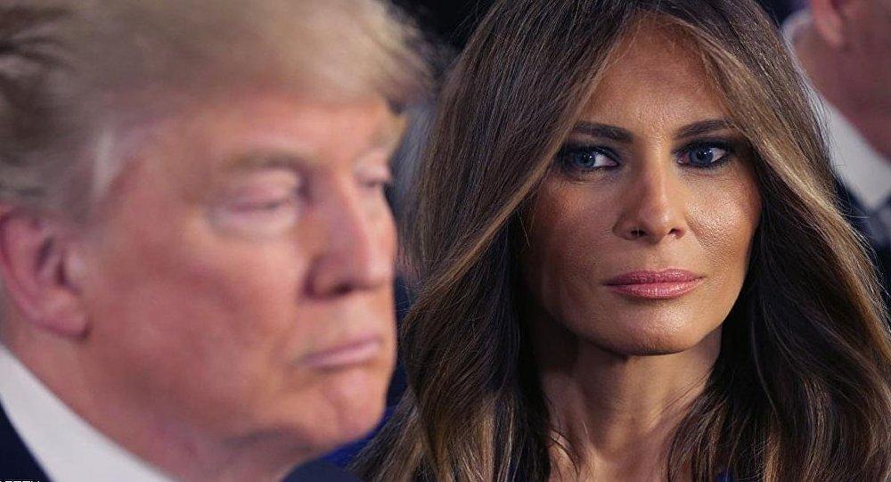 ليس اجهل من ترامب الا زوجته