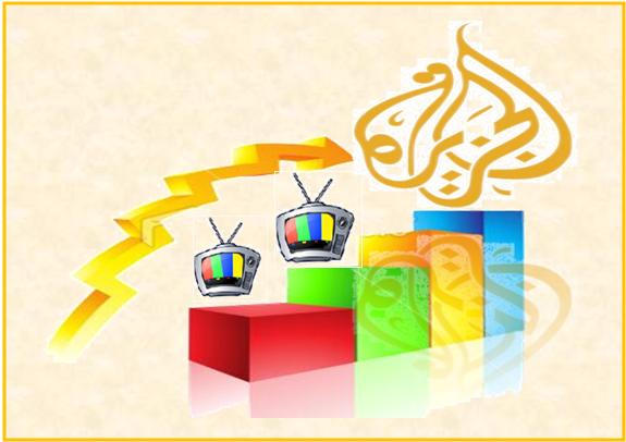 الجزيرة قناة الاخبار الاولى عالميا  لكن القطريين لا يحبون الفخر