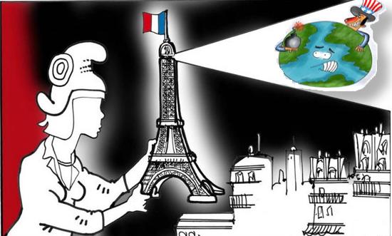 امريكا تحقد على فرنسا بشدة ورطتها ثم تركتها