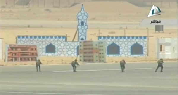 يامولانا ..ماحكم وضع المسجد كهدف قتالي في المشروع التدريبي للجيش ؟