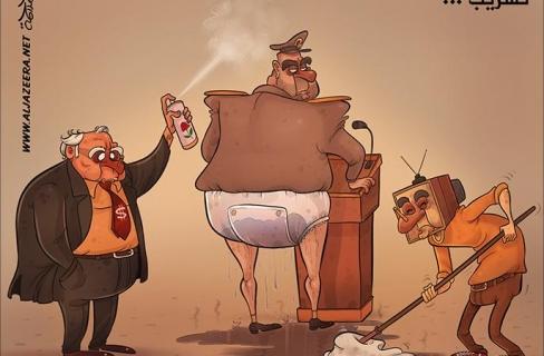 لو تحسست ملابس الانقلابيين الذين يدعون الامن  لوجدتها مبللة