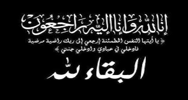 توفي الي رحمة الله حمزة ابن اخي وزميلي الاستاذ احمد حسن الشرقاوي