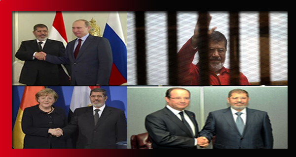 كل من سكت عن خطف وسجن الرئيس مرسي لا يستحق ان يوصف بانه انسان