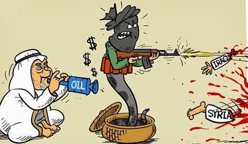 ما جرى في الشام وكسة وما يجري في العراق غبن