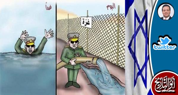 لا يتوقع الانقلابيون من اليهود الا الاغراق كما فعلوا بغزة