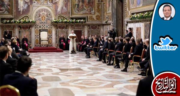 أكبر انتصار تحقق للاسلام هو أن يعقد قادة أوربا اجتماعهم في الفاتيكان