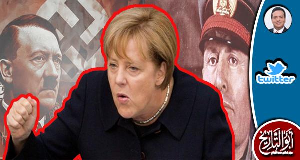 عجبت لسيدة كان أبواها من رعايا هتلر تتحدث عني بمعلومات مغلوطة