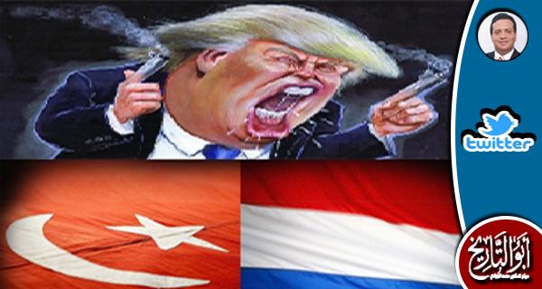 ابناء الحرام قالوا ان مهارة ترامب ان ينجز الانقلاب التركي