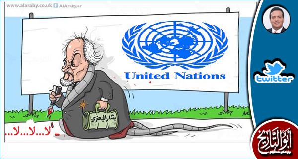 كلمة المندوب السوري في الامم المتحدة امس تصلح مقطعا في فيلم القاهرة ١٩٦٠
