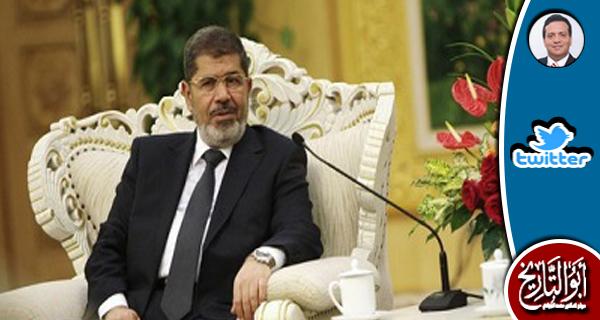 في حفل تنصيب الرئيس مرسي وجدت السفيرة الامريكية تنتظر من يستأذن لها