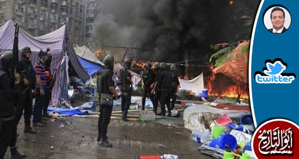 الانقلاب يعترف برابعة والبيت الابيض يسأل لماذا لم يخرج الرئيس مرسي من محبسه ؟