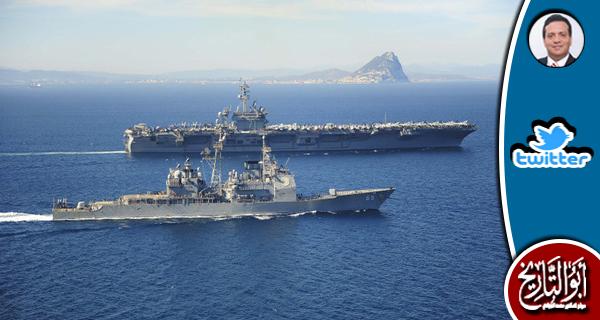 لماذا احتشدت امريكا في البحر الابيض المتوسط بدون سبب ظاهر ؟