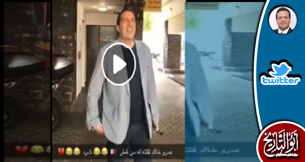 عمرو خالد إستخدموه ليروج فيلما دعائيا يصافح فيه مسلما فانكشف