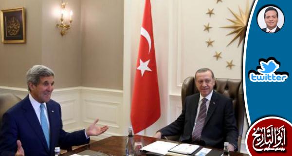 لو كان الانقلابي التركي نجح لكان جون كيري عليه لعنة الله قد توج بنوبل للسلام
