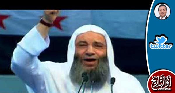يا مولانا حسان اتشحتف و قول والله لن ينصرك الله ابدا بدون تحديد للمخاطب