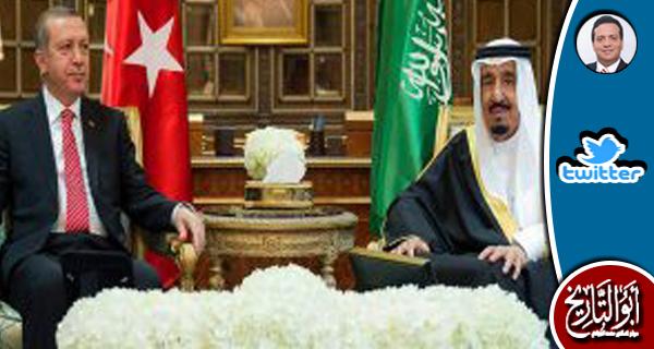 اردوغان بعد لقاء الملك سلمان صرح...فادركت ان السعودية تورطت في انقلاب البيادة