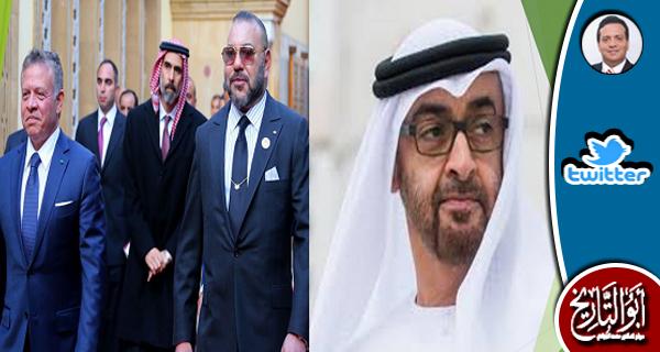 الملك عبد الله والملك محمد السادس كلاهما مستهدف في دماغ البز