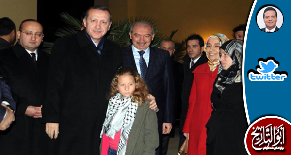 منحت تركيا عهد التميمي وسام الشجاعة لتصديها للاسرائيليين