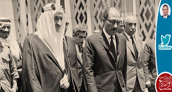 انتهت علاقة المملكة بالسادات مع اطلاق الرصاص على الملك فيصل