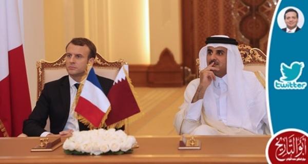 مما زاد من شعبية قطر في فرنسا تأهل منتخبها لنصف النهائي مع زيارة الامير تميم