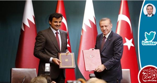 لولا انتباهة اردوغان صبيحة حصار قطر لاندفعت الكبيرة لحرب كحرب داحس