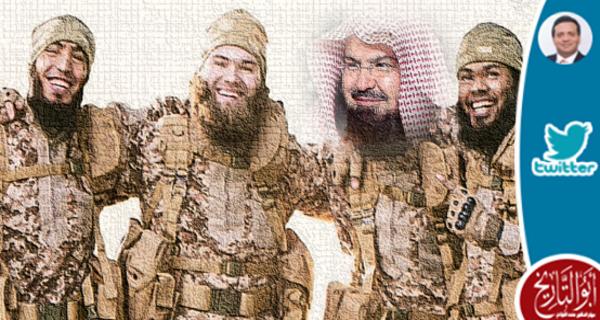 صديقي الواشنطني يقول ان خطبته تنبئ انه من  داعش حتى لو ادعى الانحلال