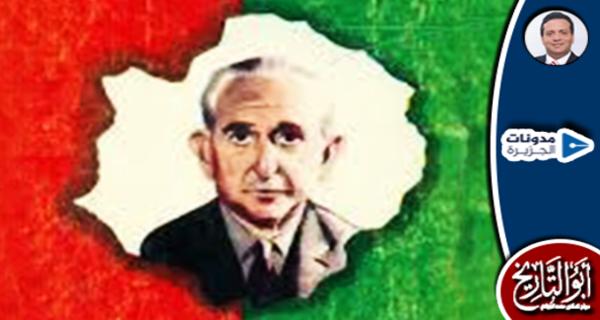 حين حطم #صلاح_الشاهد لإطار صورة رئيس الوزراء حسين سري باشا