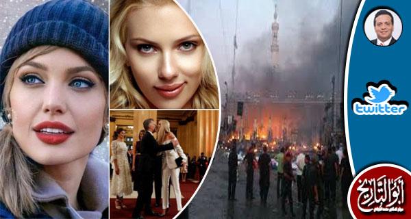 يؤيدون عدو الله الذي يحرق الركع والسجد وينتقدوننا في نشر صور الطاهرات