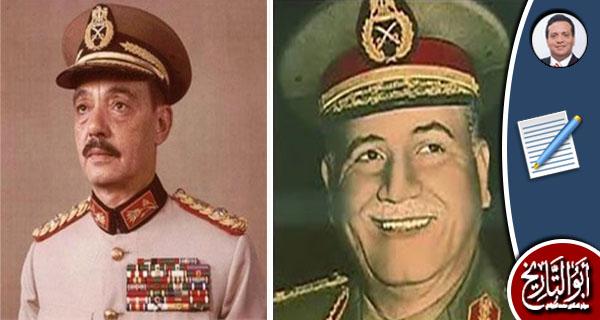 أحمد إسماعيل والجمسى المشيران المنتصران فى 1973